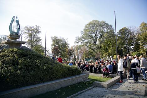 Turistička tura na Novom groblju