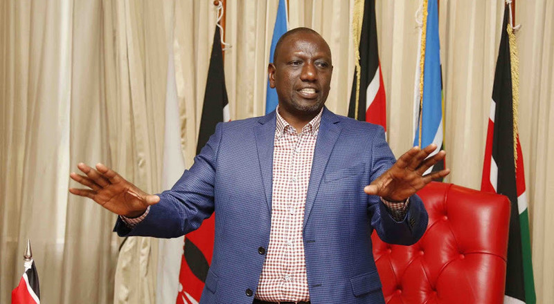 The End is nigh, nowhere to hide – DP Ruto speaks after Murathe's Citizen TV interview