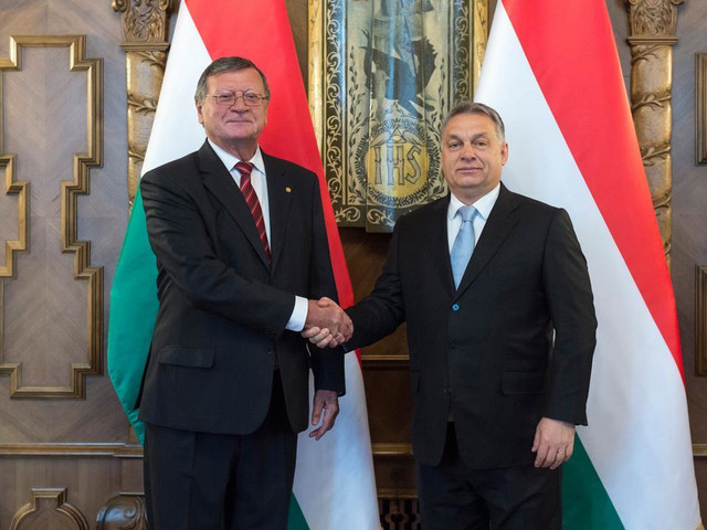 Aleksandar Boričić i Viktor Orban