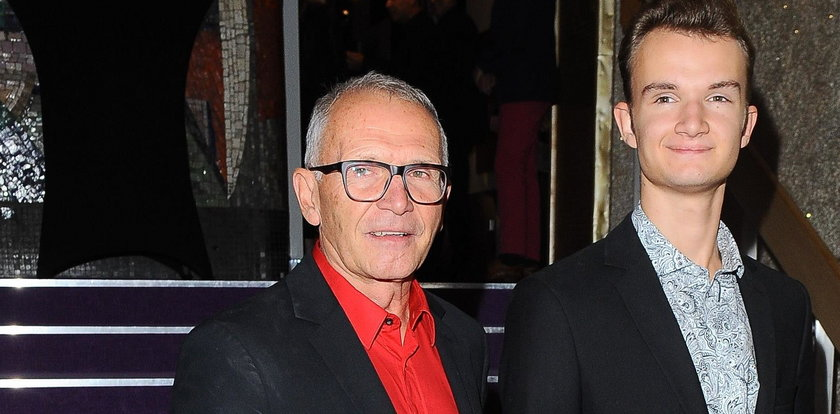 """Aktor """"Złotopolskich"""" ma syna młodszego od wnuka. Podobny?"""