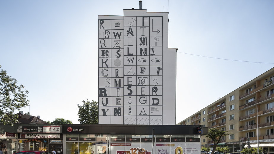 Mural w Gdyni
