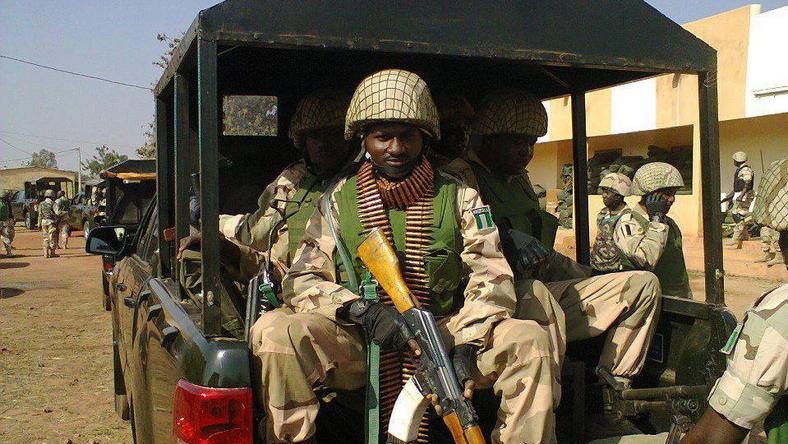 Nigerian soldiers have been fighting Boko Haram's insurgency in the northeast for nearly 10 years (image used for illustrative purpose)