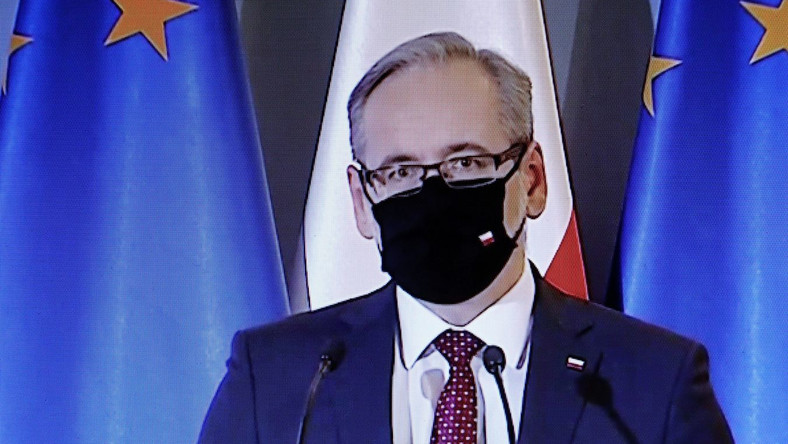 Minister zdrowia Adam Niedzielski Rafał Guz/PAP