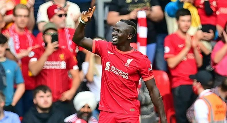 Liverpool forward Sadio Mane Creator: Paul ELLIS
