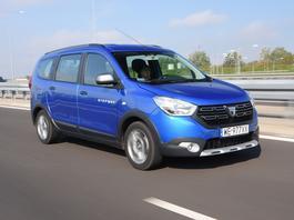 Dacia Lodgy Stepway - bezkonkurencyjnie tani rodzinny van