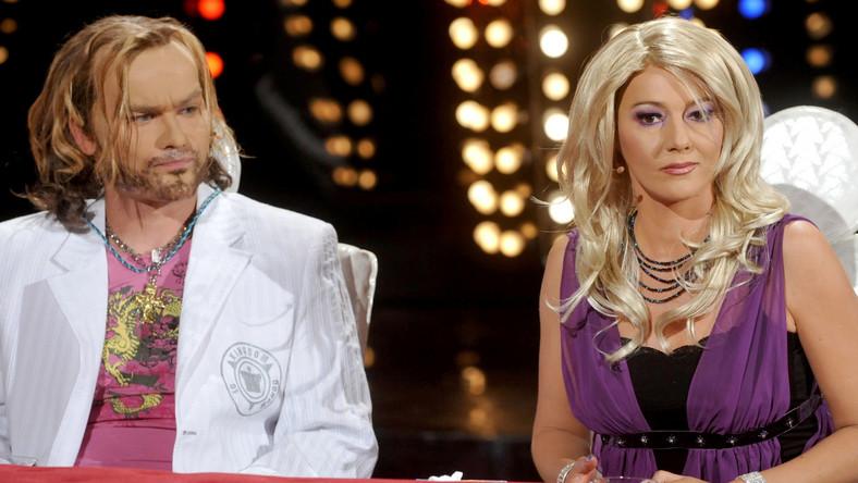 """Katarzyna Kwiatkowska i Michał Zieliński w """"Szymon Majewski Show"""""""