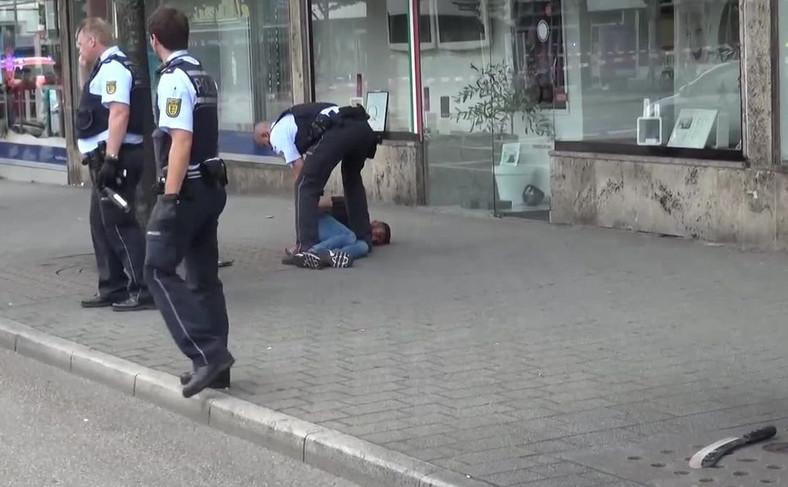 Młody Syryjczyk zabił kobietę maczetą