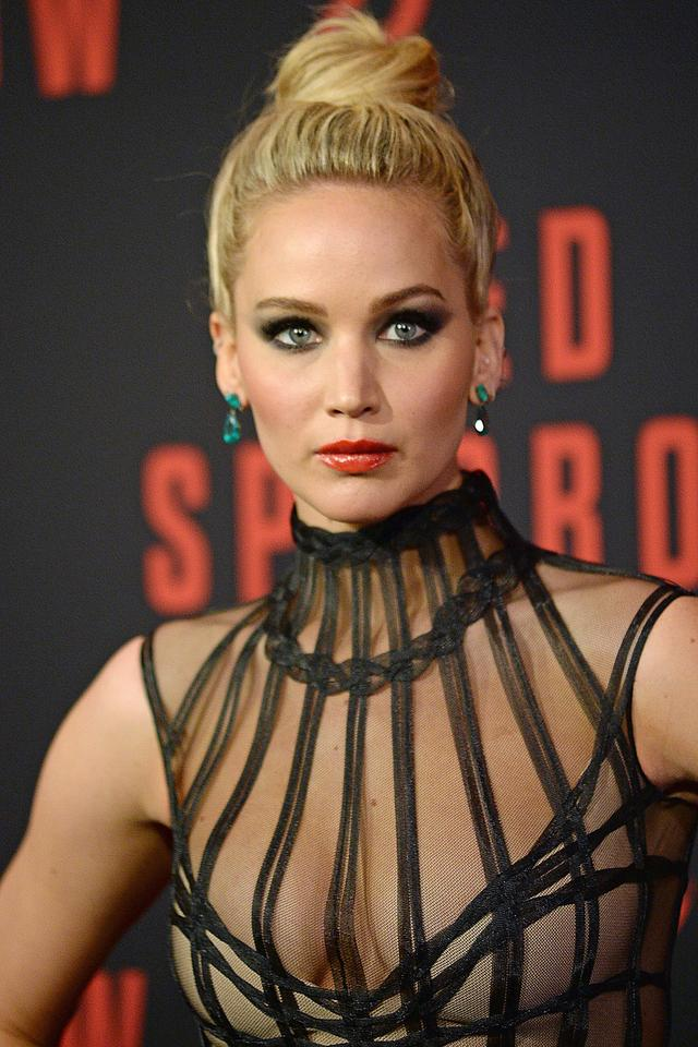 "Jennifer Lawrence na premierze filmu ""Red Sparrow"""