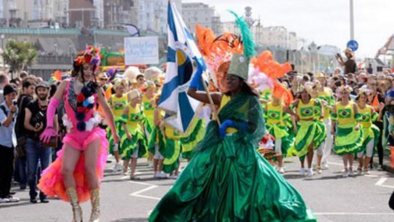 The colour and the life of the Brighton Pride parade as seen in 2015.