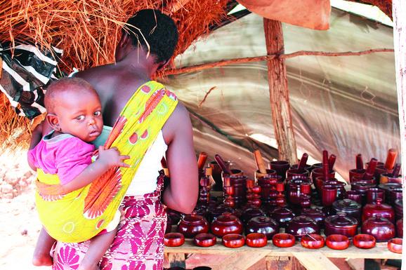 Nosiljka na afrički način