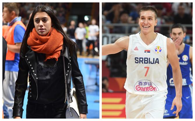 Olga Danilović i Bogdan Bogdanović