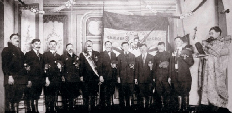 Vajagici pred polazak u Prvi svetski rat