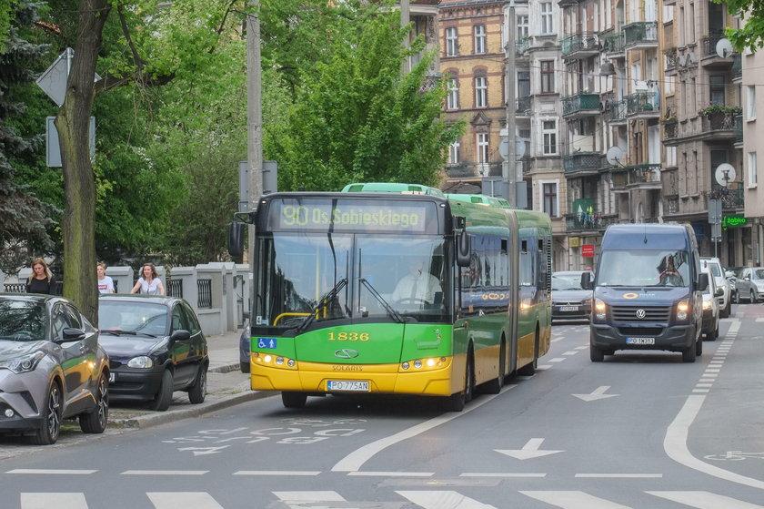 Poznań nieprzyjazny kierowcom