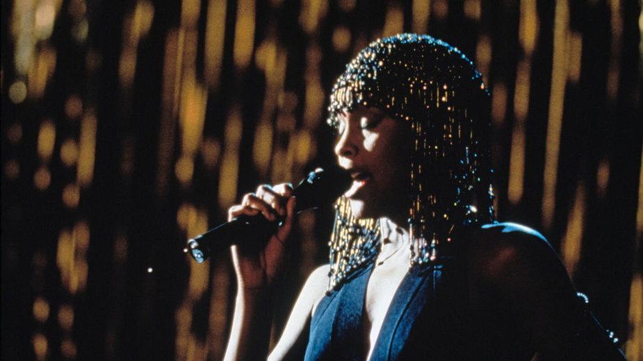 """Whitney Houston w filmie """"Bodyguard"""""""