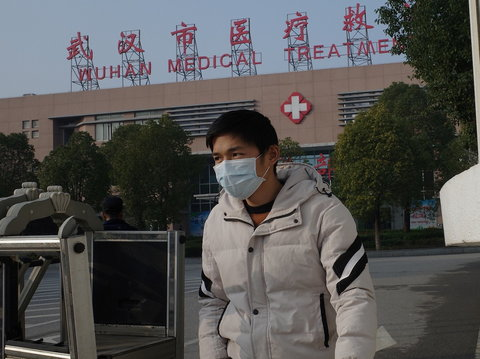 China is battling a SARS-like coronavirus disease that spread from Wuhan (AFP)