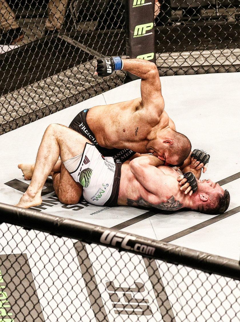 Polski wieczór klęski na UFC w Krakowie