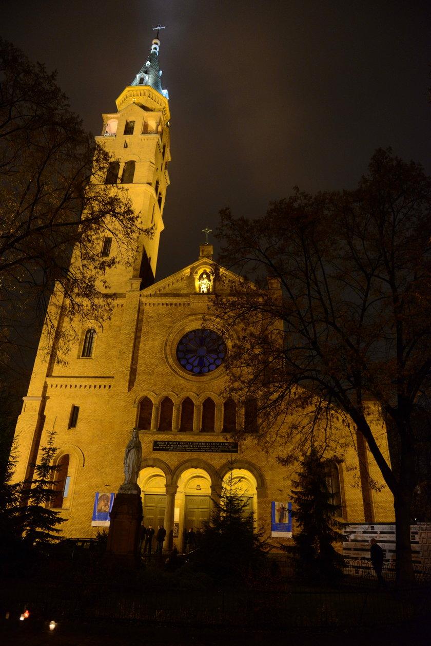 Pokaz Macieja Zienia w kościele
