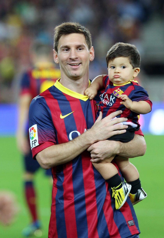Ojcostwo służy Lionelowi Messiemu