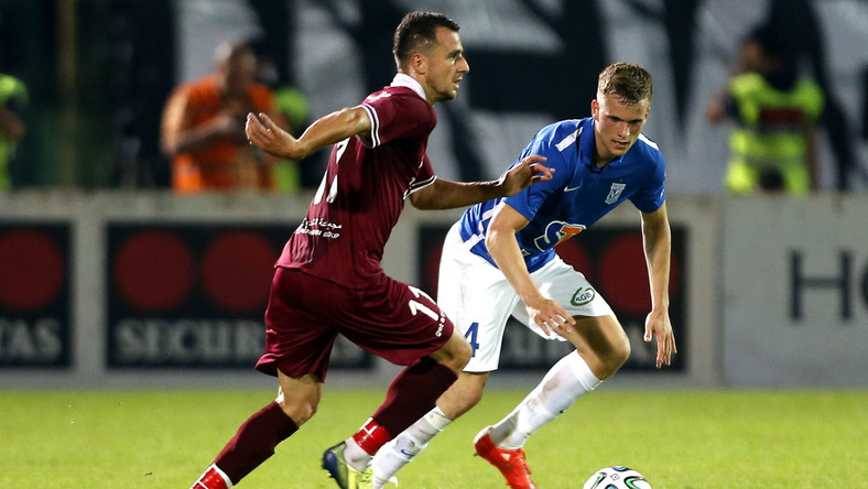 Mecz FK Sarajewo - Lech Poznań w eliminacjach Ligi Mistrzów