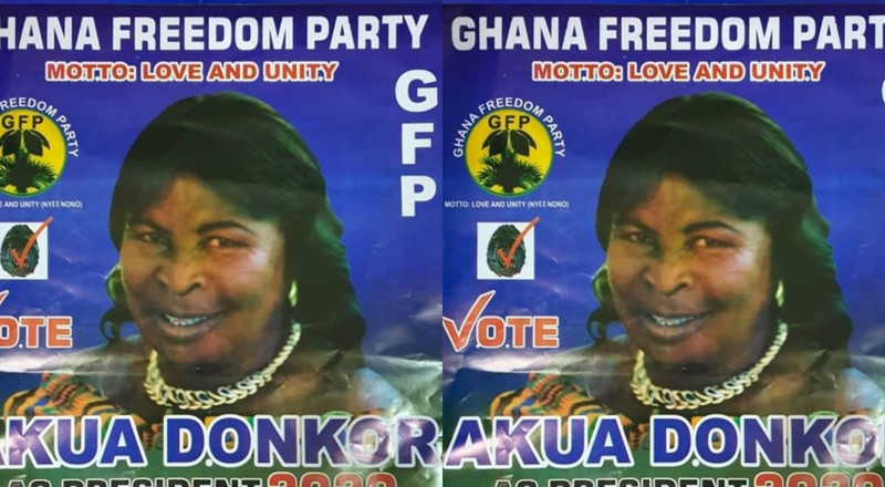 Akua Donkor launches manifesto; 1-year maternity leave, farmers on payroll after age 40 (video)