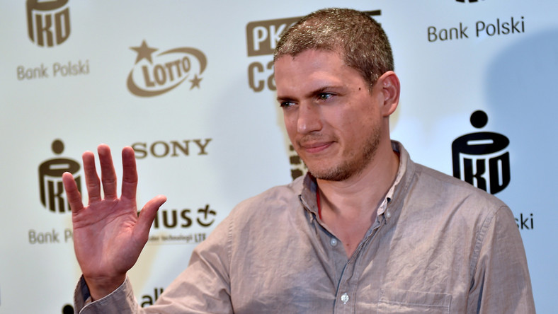 Wentworth Miller na PKO Off Camera