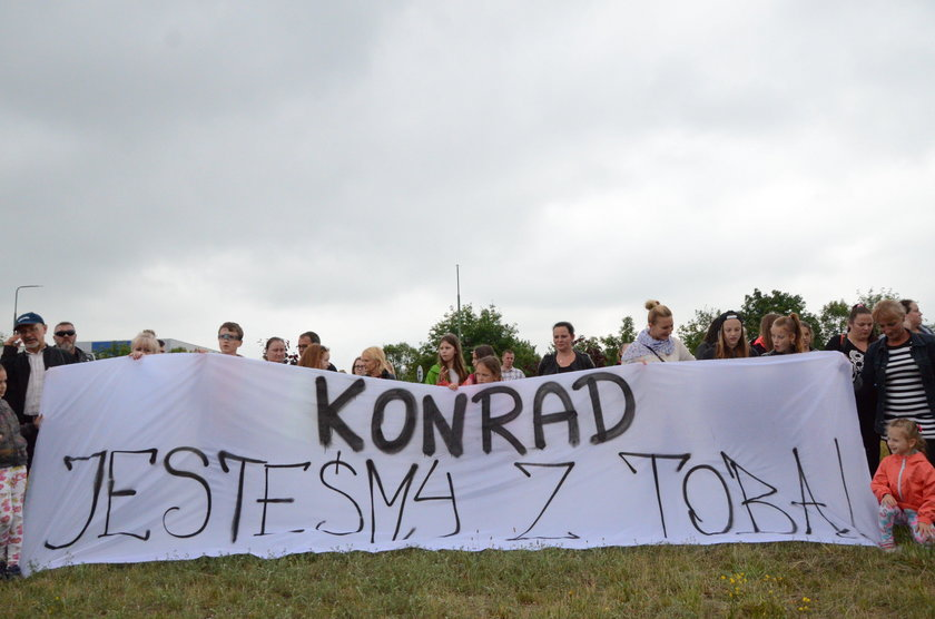 20-letni Konrad Krzemiński