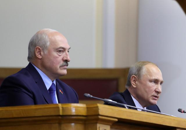 Vladimir Putin i Aleksandar Lukašenko