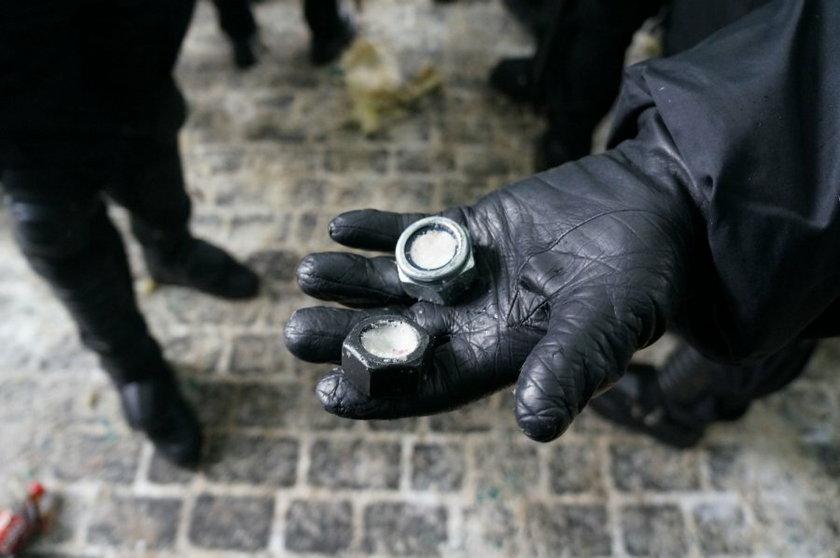 Jastrzebie Zdrój. Manifestcja górników i starcia z policją