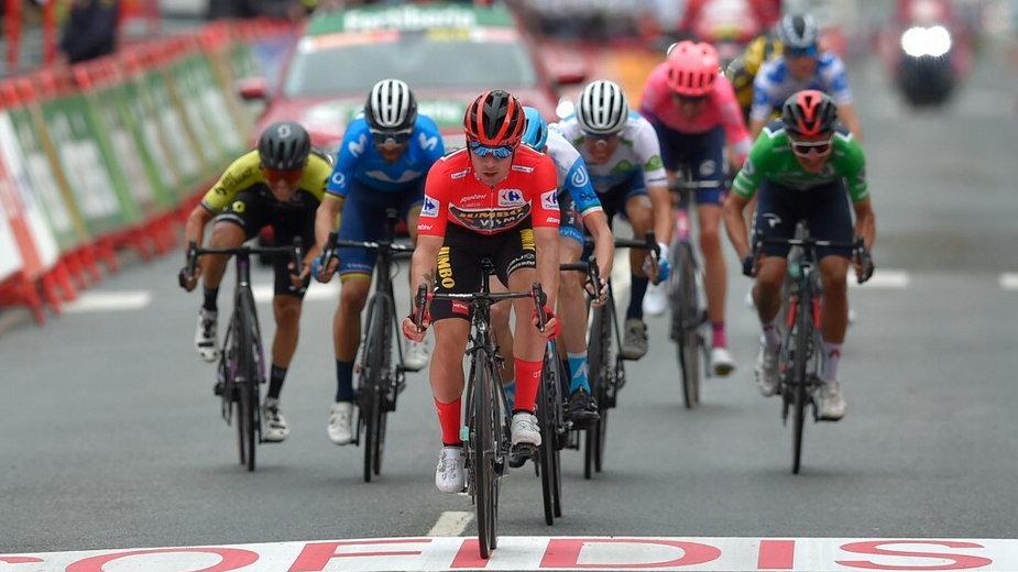 Zdjęcie z 2. etapu Vuelta a Espana 2020
