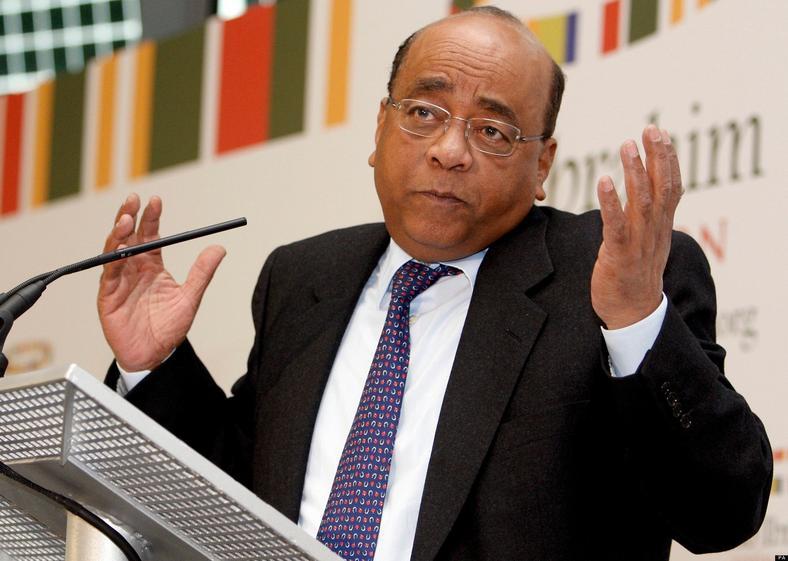 Sudanese-born billionaire philanthropist Mo Ibrahim