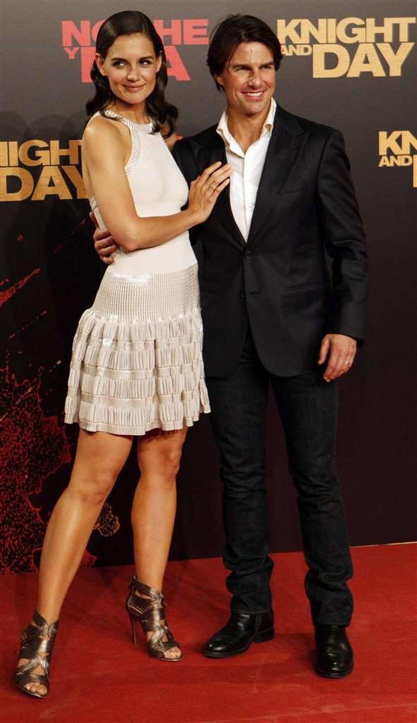 Katie Holmes w filmie o Kennedych. Czy Katie Holmes i Tom Cruise będą mieli dziecko?