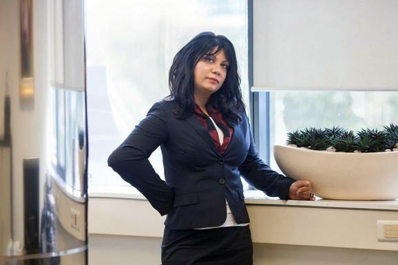 Nela Arsić, direktor sektora poslova sa stanovništvom i MSP AIK banke