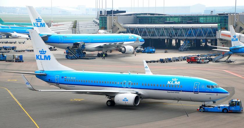 Boeing 737-800 w barwach KLM