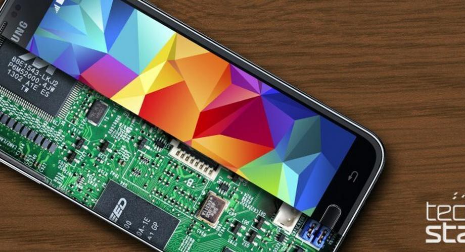 Samsung Galaxy S5 zerlegt: es lebe der Kleber