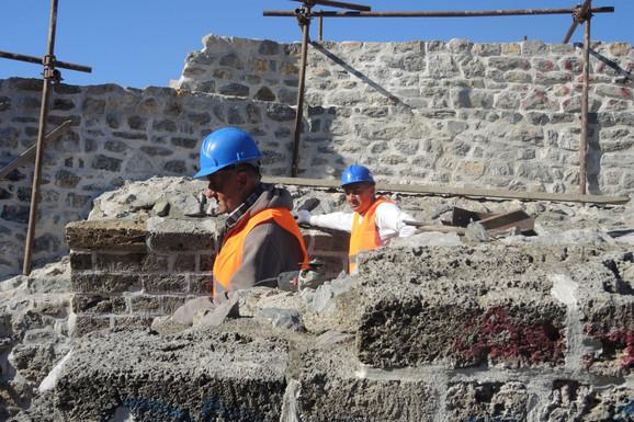Radovi na Starom gradu