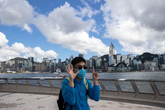 Pet zahteva i nijedan manje - prodemokratski aktivista u Hong Kongu 17. juna