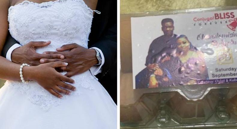 Couple leaves guests in awe after serving a crate of eggs as souvenir at their wedding