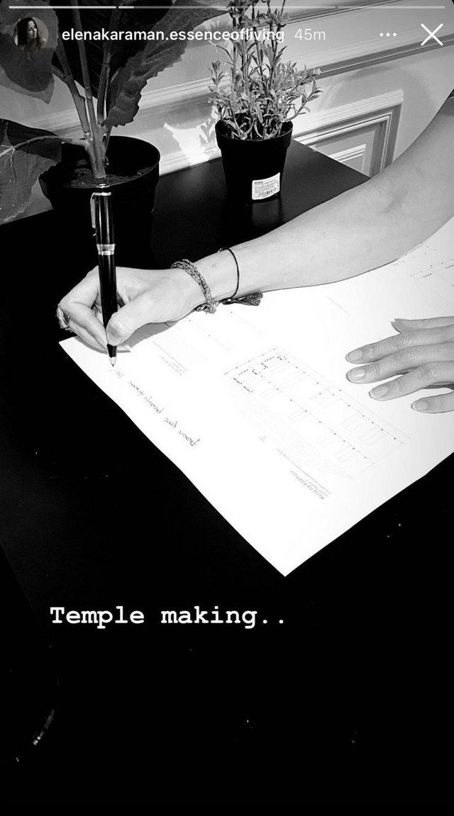 Elena, objava na Instagramu