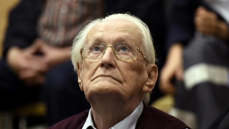 Former SS officer Oskar Groening was sentenced to four years in prison after his 2015 trial Lueneburg, northern Germany