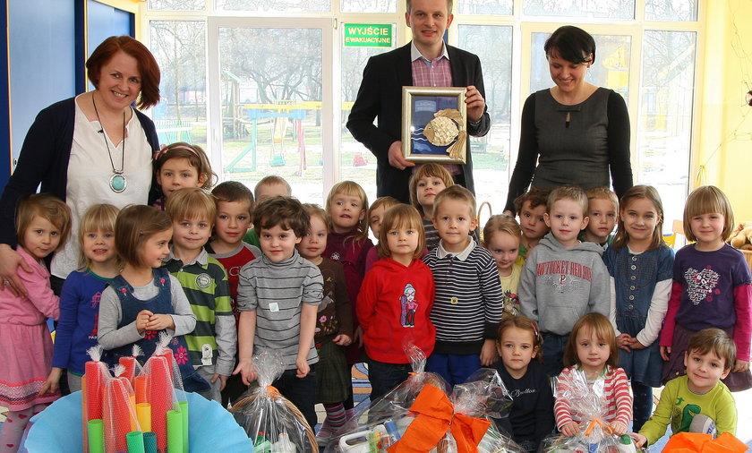 Prezenty dla przedszkola od Galerii Krakowskiej.