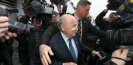 Blatterowi grożono śmiercią