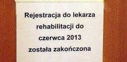 Nie ma miejsc na rehabilitacji