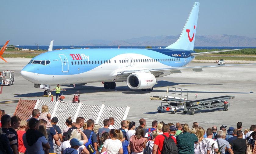 Samolot TUI fly