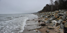 Zniknęła plaża w znanym polskim kurorcie