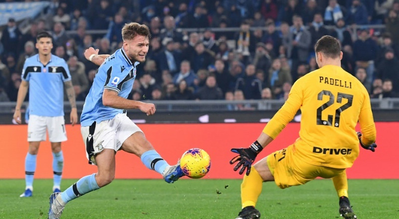 Lazio ready to pounce as Juve, Inter clash behind closed doors