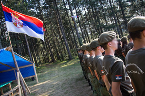 ZABRANA ZA VOJNI KAMP ZA DECU Policija kasno sinoć ušla u kamp na Zlatiboru i ZATVORILA GA
