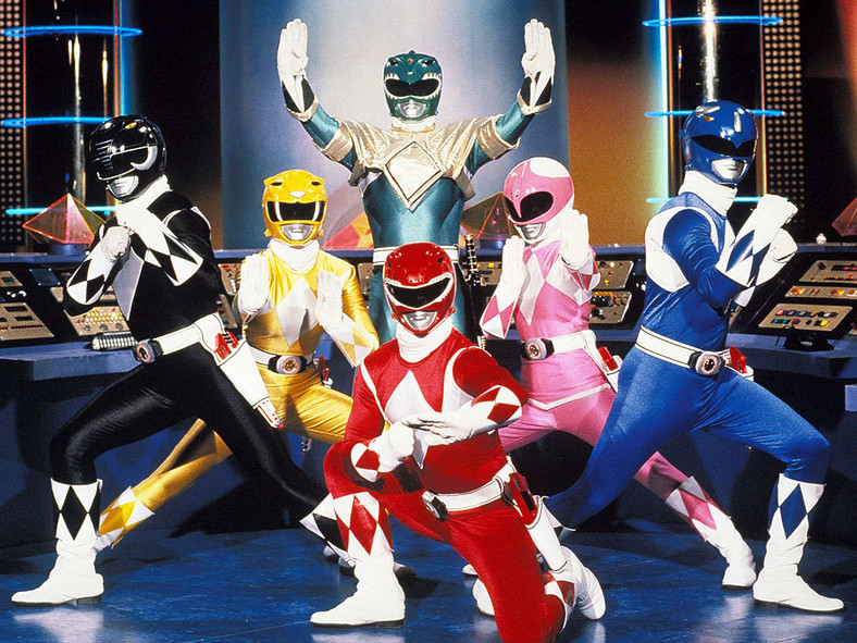 """Power Rangers"" w serialu"