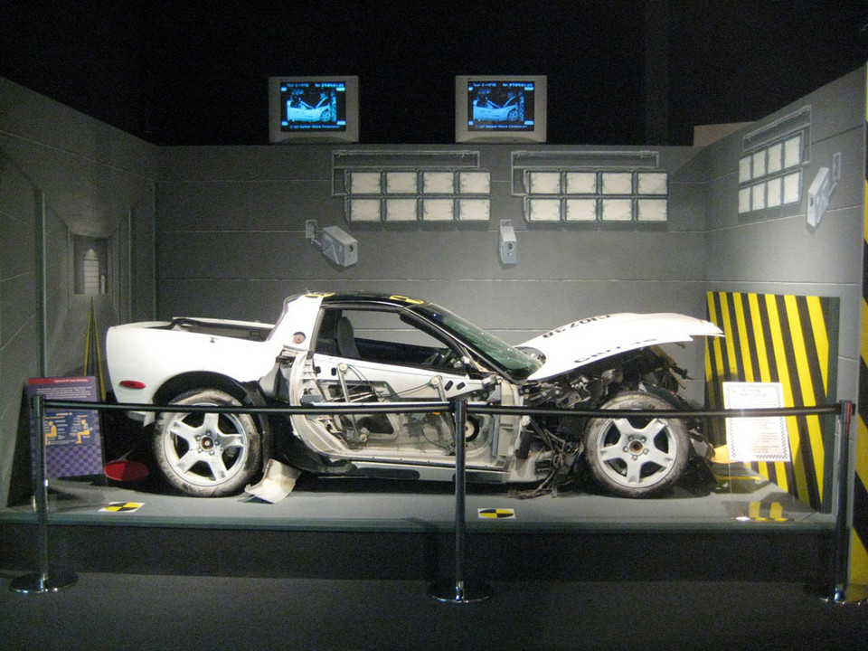 Chevrolet Corvette Crashtest