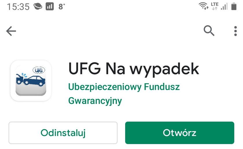 Aplikacja UFG