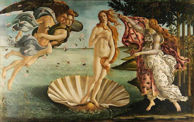 """Sandro Botticelli """"Narodziny Wenus"""""""